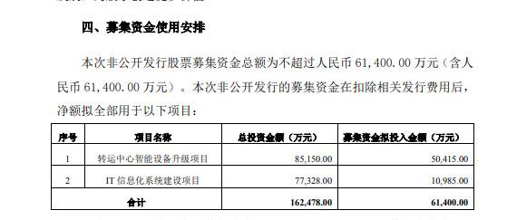 德邦物流:拟引入韵达股份为战略投资人 募资不超过6.14亿元_物流_电商之家